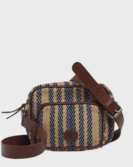 Superdry Τσάντα Casual Dolwa Cross Body - W9110268Α - ΜΠΛΕ
