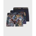 Jack & Jones SKULLPINE TRUNKS 3 PACK - 12175919 - ΜΠΛΕ