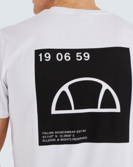 Ellesse Ανδρικό Τ-Shirt - SXI11111 ANTAKO - ΑΣΠΡΟ
