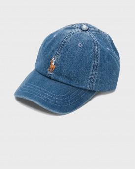 POLO RALPH LAUREN CLASSIC SPORT HAT - 710674341001 - ΜΠΛΕ
