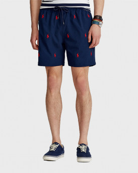 Polo Ralph Lauren Traveler Swim Shorts - 710835127001 - ΜΠΛΕ