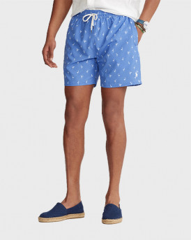 Polo Ralph Lauren Traveler Swim Shorts - 710834848001 - ΓΑΛΑΖΙΟ