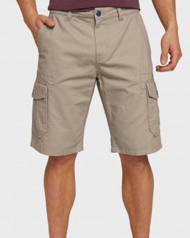 TOM TAILOR Twill cargo shorts - 1026183 - ΜΠΕΖ