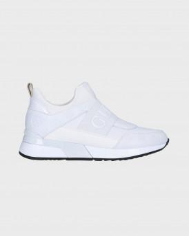 Guess Γυναικείο Sneakers - FL6MYIPEL12 - ΑΣΠΡΟ