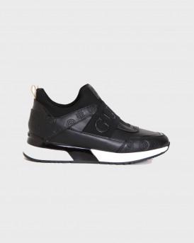 Guess Γυναικείο Sneakers - FL6MYIPEL12 - ΜΑΥΡΟ