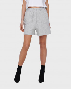 LOOSE FITTED SWEAT SHORTS - 15231834 - ΓΚΡΙ