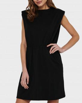 ONLY SHOULDER DETAIL DRESS - 15227144 - ΜΑΥΡΟ