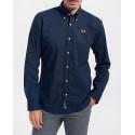 LA MARTINA Men Shirt - CCMC02 PP003 - ΜΠΛΕ