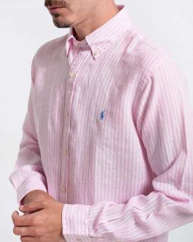 Polo Ralph Lauren Men Shirt - 710837274002 - ΡΟΖ