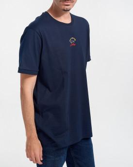PAUL & SHARK Ανδρικό Τ-Shirt - C0P1096 - ΜΠΛΕ