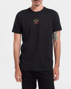 PAUL & SHARK Ανδρικό Τ-Shirt - C0P1096 - ΜΑΥΡΟ