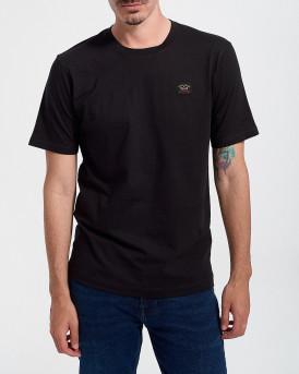 PAUL & SHARK Ανδρικό Τ-Shirt - C0P1002 - ΜΑΥΡΟ