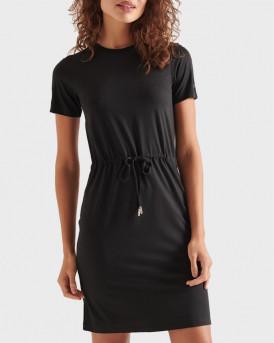 Superdry Γυναικείo Φόρεμα - W8010645Α - ΜΑΥΡΟ