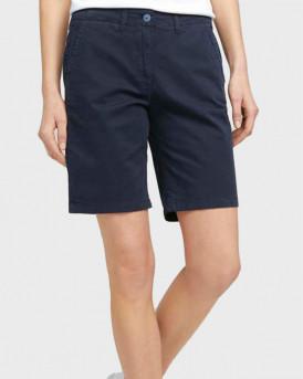 TOM TAILOR Chino Bermuda shorts - 1025265 - ΜΠΛΕ