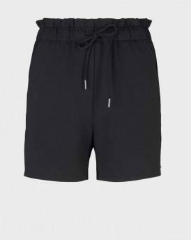 TOM TAILOR Relaxed shorts - 1025242 - ΜΑΥΡΟ
