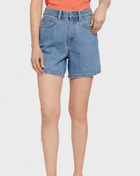 TOM TAILOR Mom-fit shorts - 1025737 - ΜΠΛΕ