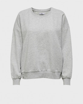 ONLY LOOSE FITTED SWEATSHIRT - 15231833 - ΓΚΡΙ