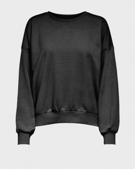 ONLY LOOSE FITTED SWEATSHIRT - 15231833 - ΜΑΥΡΟ