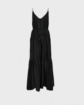 ONLY SLEEVELESS MAXI DRESS - 15235762 - ΜΑΥΡΟ