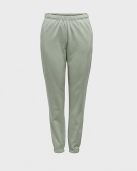 ONLY SOLID COLORED SWEATPANTS - 15241104 - ΠΡΑΣΙΝΟ