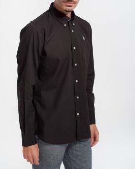 US Polo Men Shirt - 60423-52112 - ΜΑΥΡΟ