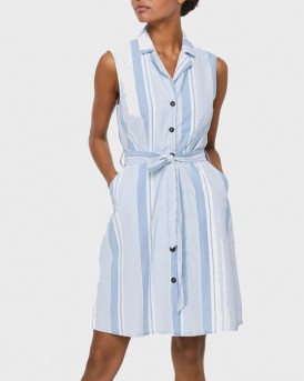 VERO MODA SLEEVELESS MINI DRESS - 10244742 - ΜΠΛΕ
