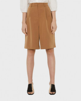 VERO MODA HIGH WAISTED SHORTS - 10245075 - KAΦΕ