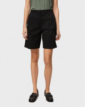 VERO MODA HIGH WAISTED SHORTS - 10249137 - ΜΑΥΡΟ