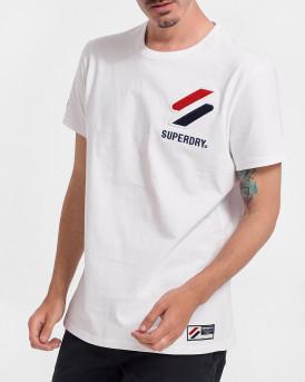 Superdry Aνδρικό Τ-Shirt - Μ1011031Α - ΑΣΠΡΟ