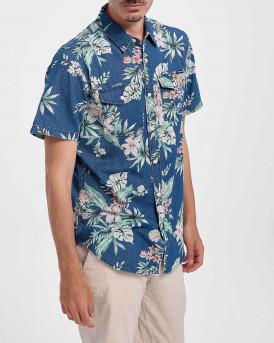 Superdry Men Shirt - M4010329Α - ΜΠΛΕ