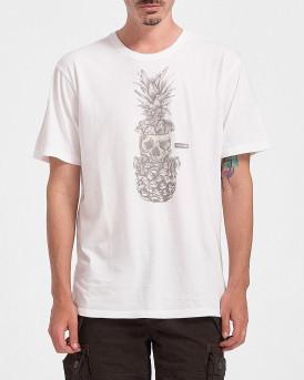 Hurley Ανδρικό Τ-Shirt - CZ6042 - ΑΣΠΡΟ