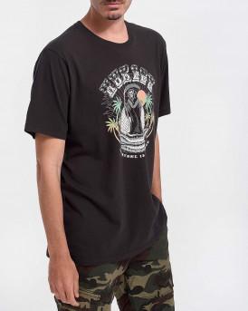Hurley Ανδρικό Τ-Shirt - CZ6056 - ΜΑΥΡΟ