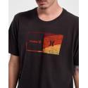 Hurley Ανδρικό Τ-Shirt - CZ6063 - ΜΑΥΡΟ