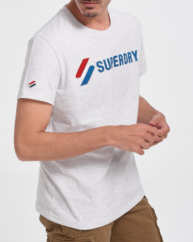 Superdry Ανδρικό Τ-Shirt - M1010971Α - ΓΚΡΙ