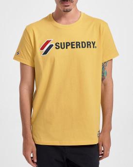 Superdry Ανδρικό Τ-Shirt - M1010971Α - ΚΙΤΡΙΝΟ