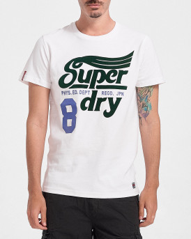 Superdry Ανδρικό Τ-Shirt - M1011193Α - ΑΣΠΡΟ