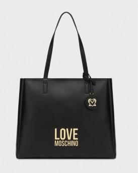 Love Moschino Γυναικεία Τσάντα Ώμου - JC4100PP0CLJ0 - ΜΑΥΡΟ