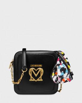 Love Moschino γυναικεία τσάντα crossbody - JC4264PP0CKK0 - MΑΥΡΟ
