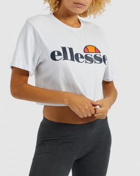 Ellesse Women Alberta cropped tee - SGS04484 - ΑΣΠΡΟ