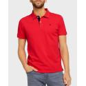 TOM TAILOR Basic polo shirt - 1016502.00.10 - ΣΙΕΛ
