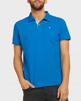 TOM TAILOR Basic polo shirt - 1016502.00.10 - ΡΟΥΑ