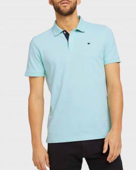 TOM TAILOR Basic polo shirt - 1016502.00.10 - ΒΕΡΑΜΑΝ