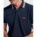 BOSS polo shirt - 50398302 PADDY - ΑΣΠΡΟ