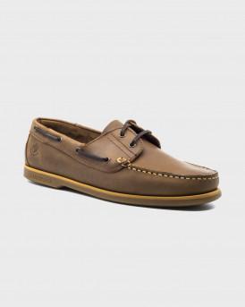 LUMBERJACK Ανδρικό Boat Shoes - SM07804-005-H01 NAVI - ΚΑΦΕ