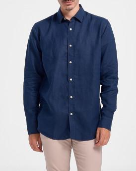 Rook Men Shirt - 2121105023 - ΜΠΛΕ