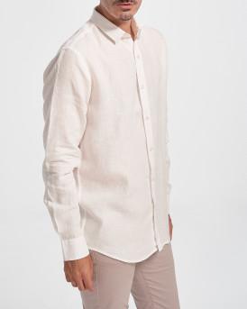 Rook Men Shirt - 2121105023 - ΑΣΠΡΟ