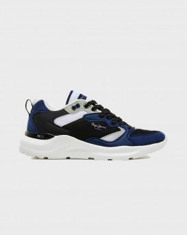 PEPE JEANS Ανδρικό Sneakers - PMS30748 ΒROOKS - ΜΠΛΕ