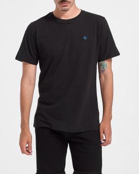 ROOK Men T-Shirt - 2121102091 - ΜΑΥΡΟ