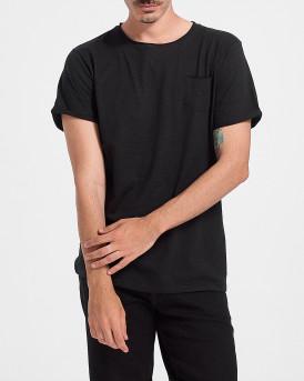 ROOK Men T-Shirt - 2121102072 - ΜΑΥΡΟ