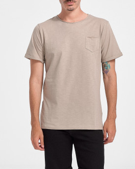 ROOK Men T-Shirt - 2121102072 - ΓΚΡΙ